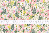 Cotton + Steel Wildwood - wildflowers pink - 50cm