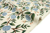 Cotton + Steel Wildwood canvas - peonies cream - fat quarter