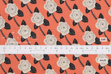 Japanese Fabric Cotton + Steel Kibori - Chico - coral - 50cm