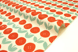 Japanese Fabric Kokka Trefle Tulips - red - fat quarter