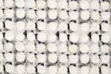 Japanese Fabric Cotton + Steel Once Upon A Time Newsprint - Okii Dot - grey - fat quarter