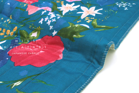 Japanese Fabric Nani Iro Fuccra quilted double gauze - L - 50cm