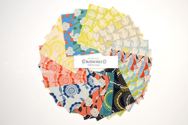 Cotton + Steel Charm Pack Japanese Fabric Kibori