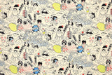 Japanese Fabric Nippon! - natural - 50cm