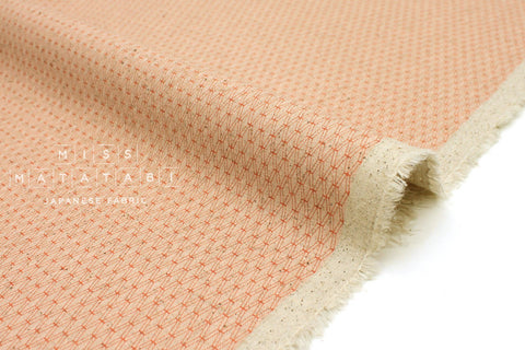 Japanese Fabric Cotton + Steel Basics Canvas - Mishmesh - sherbet - 50cm
