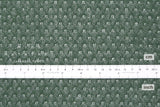 Japanese Fabric Lace Knit - forest green - 50cm