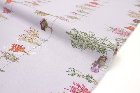 Japanese Fabric Dried Flowers - lavender - 50cm