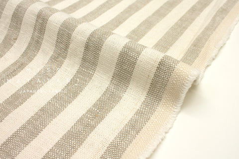 Japanese Fabric 100% linen Stripes -  50cm