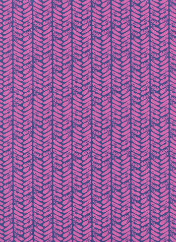 Cotton + Steel Honeymoon - palm purple - fat quarter