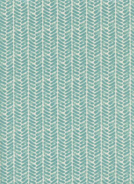 Cotton + Steel Honeymoon - palm dusty blue - fat quarter
