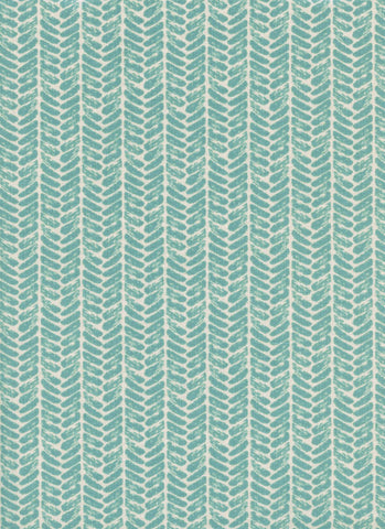 Cotton + Steel Honeymoon - palms dusty blue - 50cm