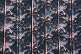 Cotton + Steel Poolside canvas - palms - blue - 50cm