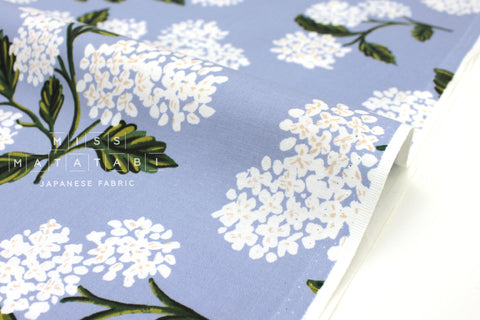 Cotton + Steel Meadow - hydrangea light blue - 50cm