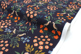 Cotton + Steel Meadow - Luxembourg navy - 50cm