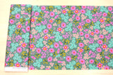 Cotton + Steel Playful lawn - vintage floral - 50cm