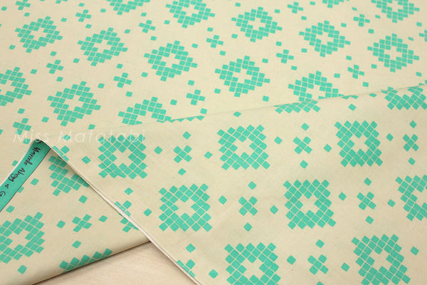 Cotton + Steel Mesa - tile turquoise - fat quarter