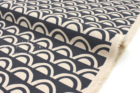 Japanese Fabric Kokka Ellen Baker Paper - Bridge A - fat quarter