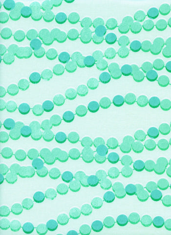 Cotton + Steel Trinket - candy necklace aqua - 50cm