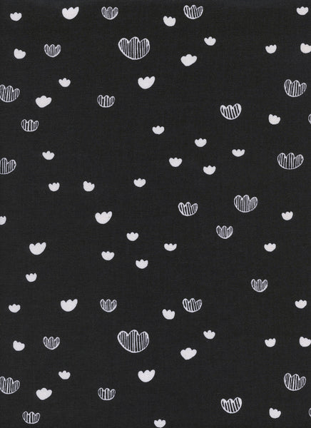 Cotton + Steel Print Shop - meadow midnight - 50cm
