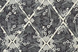 Japanese Fabric Kokka Uremos - Cranes and Turtles - D - 50cm