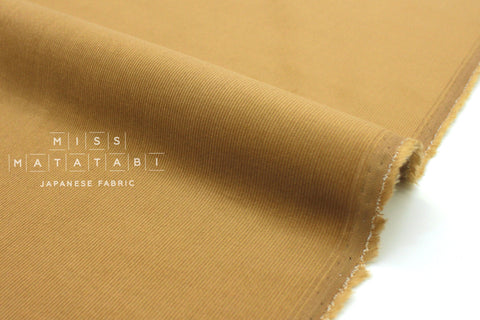 Japanese Fabric Corduroy Solids - sand beige - 50cm