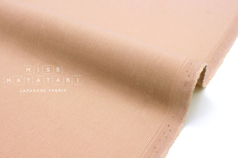 Japanese Fabric Corduroy Solids - light blush pink - 50cm