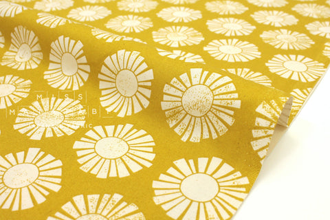 Japanese Fabric Cotton + Steel By The Seaside - Sunshine golden - fat quarter