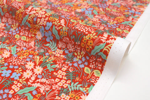 Cotton + Steel Meadow - meadow red - 50cm