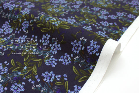 Cotton + Steel Meadow - cornflower navy - 50cm