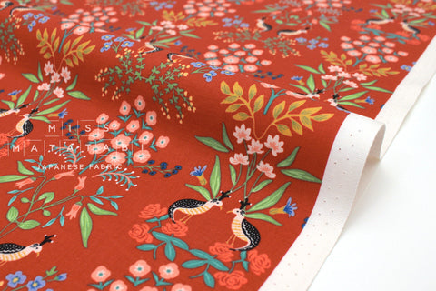Cotton + Steel Meadow - Luxembourg red - 50cm