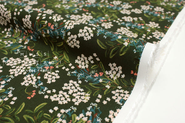 Cotton + Steel Meadow rayon - cornflower hunter - 50cm