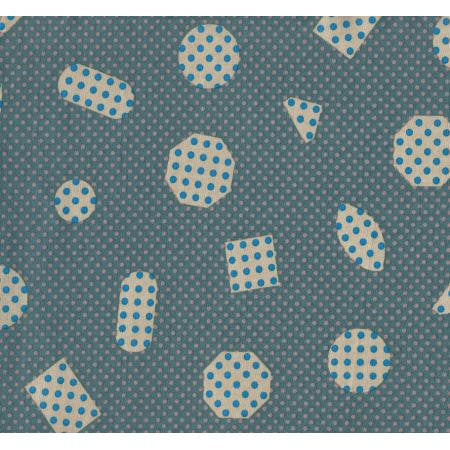 Cotton + Steel Cookie Book lawn - nonpareils teal - 50cm