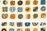 Japanese Fabric Kokka Oyatsu Cookie - B - fat quarter