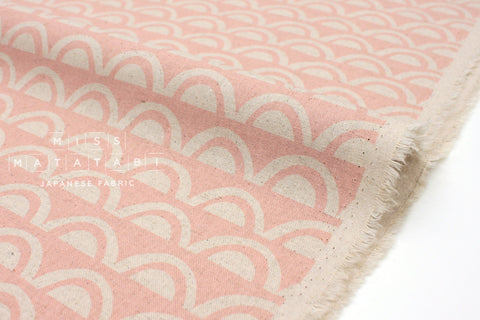 Japanese Fabric Kokka Ellen Baker Paper - Bridge B - 50cm