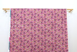 Japanese Fabric Cotton + Steel Girl's Club - Flower Fountain sweet pea white pigment - 50cm