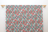 Japanese Fabric Kokka Uremos - Cranes and Turtles - A - 50cm