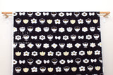 Japanese Fabric Kokka Trefle Simple Life Flowers - A - 50cm