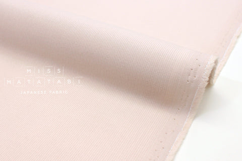 Japanese Fabric Corduroy Solids - ice pink - 50cm