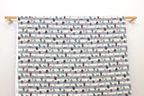 Japanese Fabric Kokka The Insects - grey - 50cm