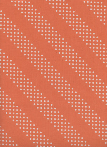 Cotton + Steel Basics - Dottie - tangerine - 50cm