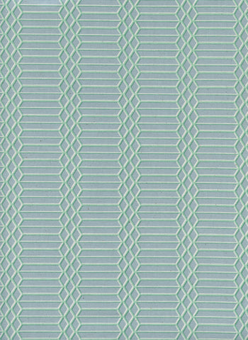 Cotton + Steel Panorama Ocean - dandy bars aqua - 50cm