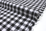 Cotton + Steel Checkers - black 1/2 inch gingham - 50cm