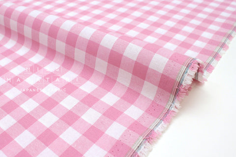 Cotton + Steel Checkers - pink 1/2 inch gingham - 50cm