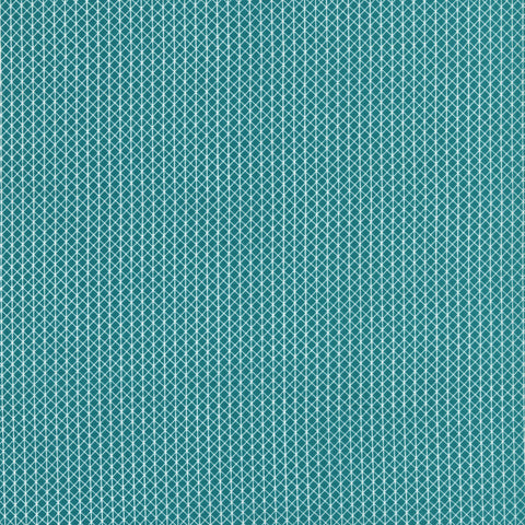 Cotton + Steel Basics - Netorious - teal - 50cm