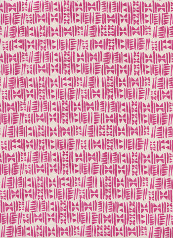 Cotton + Steel Panorama Ocean - stamps hot pink - 50cm