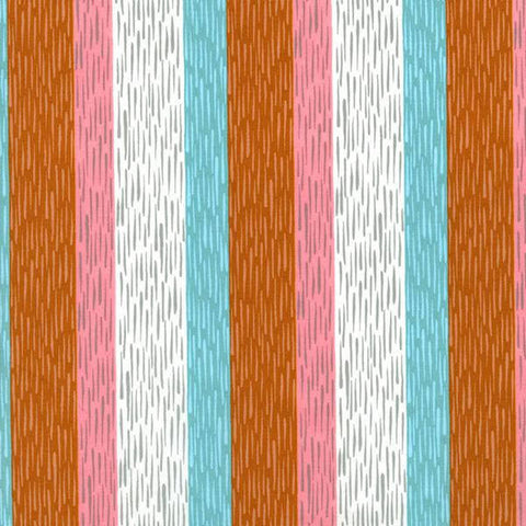 Cotton + Steel Homebody - paneling coral - 50cm