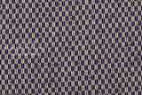 Japanese Fabric Yagasuri - dark indigo blue - 50cm