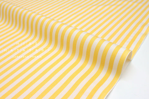 Cotton + Steel Primavera - cabana stripe yellow - 50cm