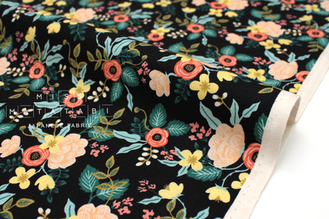 Cotton + Steel Primavera - black yellow - fat quarter