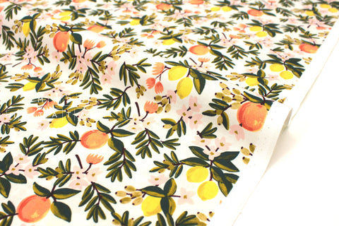Cotton + Steel Primavera - citrus floral cream - 50cm